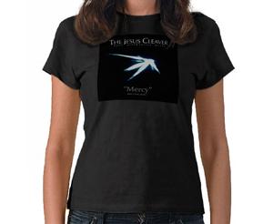 Ladies Petite T-Shirt (Black) (Mercy)